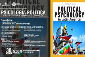 """Publicación del libro """"Political Psychology in America Latina"""""""